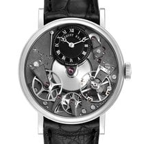 Breguet Tradition Or blanc 37mm Transparent Romains