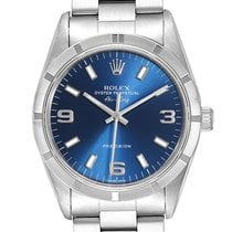 Rolex Air King Precision Steel 34mm Blue Arabic numerals United States of America, Georgia, Atlanta