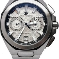 Girard Perregaux Chrono Hawk pre-owned 44mm Chronograph Date Steel