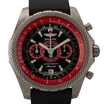 Breitling Bentley Supersports Titanio 49mm Negro Sin cifras