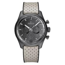 Zenith El Primero Chronomaster Aluminum 42mm Grey No numerals