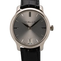 H.Moser & Cie. Endeavour Oro blanco 40.8mm Plata Sin cifras