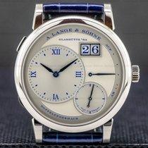 A. Lange & Söhne Lange 1 White gold 38.5mm Silver Roman numerals United States of America, Massachusetts, Boston
