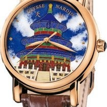 Ulysse Nardin San Marco Cloisonné new 2020 Automatic Watch with original box and original papers 136-11/TEM