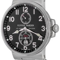 Ulysse Nardin Marine Chronometer 41mm Steel 41mm Black Arabic numerals United States of America, Texas, Dallas