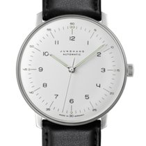 Junghans max bill Automatic Stahl 38mm Silber Arabisch