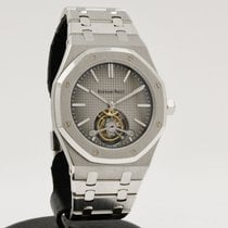 Audemars Piguet Royal Oak Tourbillon Platine 41mm Gris Sans chiffres