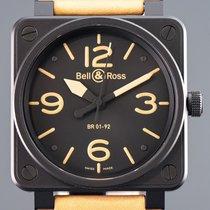 Bell & Ross BR 01-92 Zeljezo 46mm Crn Arapski brojevi