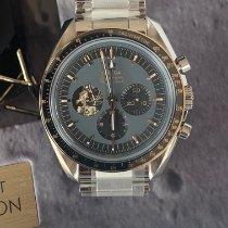 Omega Speedmaster Professional Moonwatch Acier 42mm Noir Sans chiffres France, Saint tropez