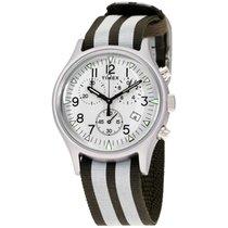 Timex Alluminio Quarzo Argento Arabo 40mm nuovo
