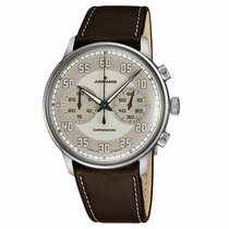 Junghans Meister Driver Steel 40.8mm Arabic numerals United States of America, New Jersey, Cherry Hill