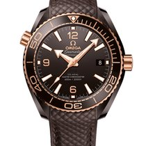 Omega Seamaster Planet Ocean Ceramic 39.5mm Brown