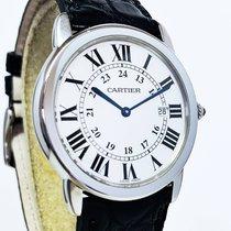 Cartier Ronde Solo de Cartier occasion 36mm Argent Date Acier
