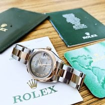 Rolex Lady-Datejust Gold/Steel 31mm Pink Arabic numerals