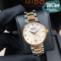 Mido Steel 33mm Automatic M022.207.22.116.10 new