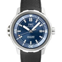 IWC Aquatimer Automatic Steel 42mm Blue No numerals United States of America, New York, New York
