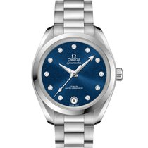 Omega Women's watch Seamaster Aqua Terra 34mm Automatic new Watch with original box and original papers 2020