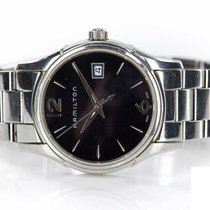 Hamilton Jazzmaster Lady pre-owned 34mm Black Date Steel
