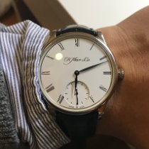 H.Moser & Cie. Oro blanco 39mm Cuerda manual 2327-0200 usados