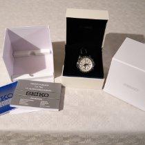 Seiko Sportura новые Кварцевые Хронограф Часы с оригинальными документами и коробкой SNAF01P1