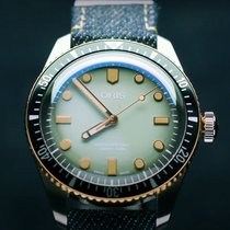 Oris Divers Sixty Five Steel 40mm Green No numerals