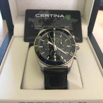 Certina Acier Quartz Noir 41mm nouveau DS First