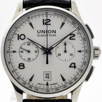 Union Glashütte Stahl 41mm Automatik Noramis Chronograph gebraucht Deutschland, Stuttgart