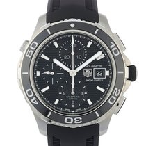 TAG Heuer Aquaracer 500M new Automatic Chronograph Watch with original box and original papers cak2111.ft8019
