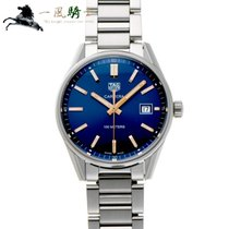 TAG Heuer Carrera Lady Staal 39mm Blauw