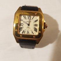 Cartier Santos 100 Жёлтое золото 41.3mm Россия, с. Немчиновка