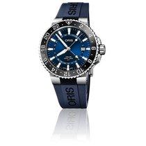 Oris Aquis GMT Date Acier 43.5mm Bleu France, Paris 1er