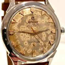 Omega pre-owned Automatic 34mm Champagne Plexiglass