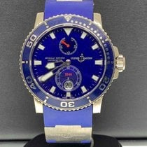 Ulysse Nardin Automatic Blue 43mm pre-owned Maxi Marine Diver