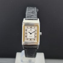 Jaeger-LeCoultre Reverso Lady Steel 20mm White Arabic numerals