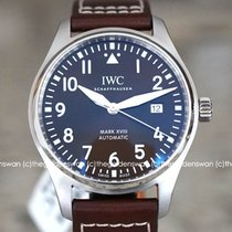 IWC Pilot Mark Steel 40mm Brown Arabic numerals United States of America, Massachusetts, Milford