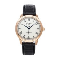 Glashütte Original Senator Automatic Rose gold 40mm Silver Roman numerals United States of America, Pennsylvania, Bala Cynwyd