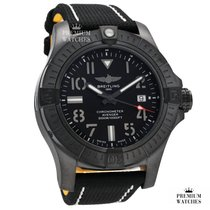 Breitling Avenger Seawolf Titan 45,00mm Schwarz Arabisch Deutschland, or EU warehouse (see description)