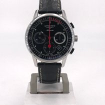 Longines Column-Wheel Chronograph Steel 41mm Black