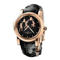 Ulysse Nardin Classic Minute Repeater Rose gold 42mm Black