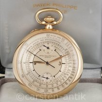 Patek Philippe Yellow gold 51mmmm Manual winding Chronograph pre-owned