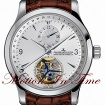 Jaeger-LeCoultre Master Tourbillon Steel 41mm Silver United States of America, New York, New York