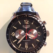 Elysee Staal 42mm Quartz 18002 tweedehands