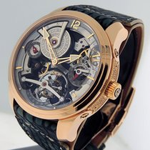 Greubel Forsey Double Tourbillon 30° Rose gold 47mm Arabic numerals United States of America, California, Los Angeles