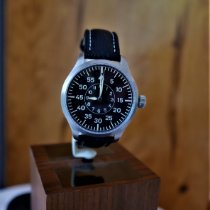 Unikatuhren Steel 47mm Automatic Uhren Atelier Entwurf  Pilot Baumuster B new