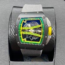 Richard Mille RM 061 Carbone 50.23mm Transparent Sans chiffres