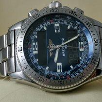 Breitling B-1 Stahl Blau Arabisch
