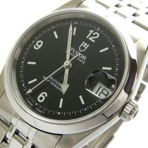 Tudor Prince Date Steel 34mm Black Arabic numerals