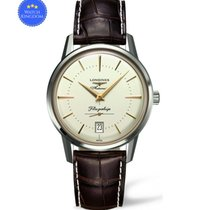 Longines Flagship Heritage Steel 38.5mm Silver No numerals