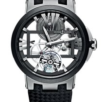 Ulysse Nardin Executive Skeleton Tourbillon Titanium 45mm Transparent