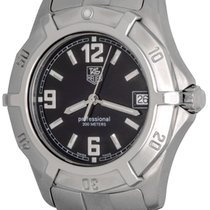 TAG Heuer 2000 Steel 38mm Black Arabic numerals United States of America, Texas, Dallas